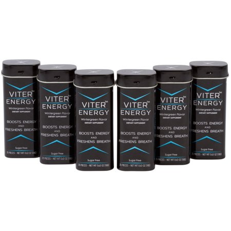 Caffeine Mints 40Mg Caffeine   B Vitamin Complex Per Mint  Sugar Free  Energizing Strong Flavor  2 Mints   1 Coffee Energy Drink  Focus Boost Caffeinated Candy   Powerful Fresh Breath By Viter Energy