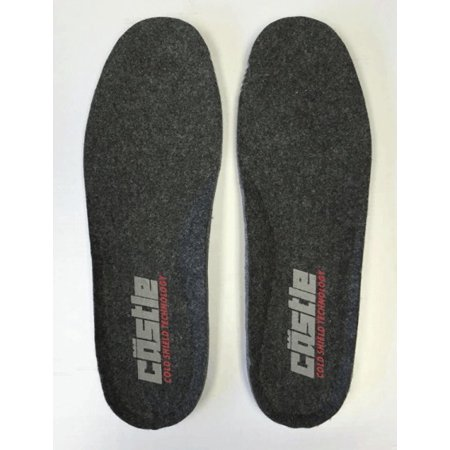 Castle X Force And Barrier Mens Replacement Insoles Black