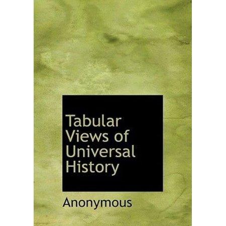 Tabular Views of Universal History - image 1 de 1