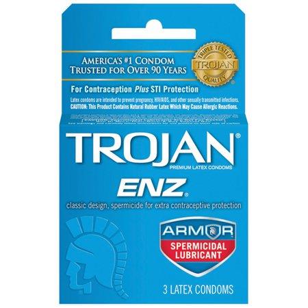 Spermicide Condoms | TROJAN™ ENZ™ Armor™ Spermicidal …
