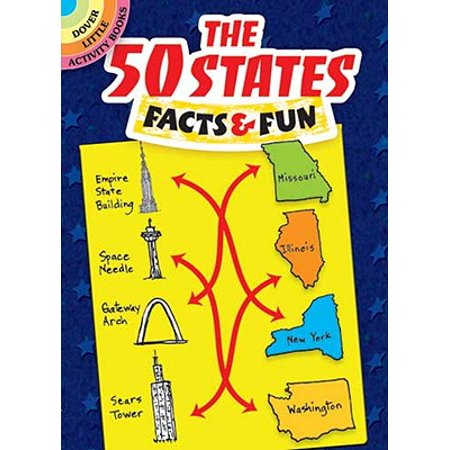The 50 States Facts & Fun (5 Regions Of The United States Facts)