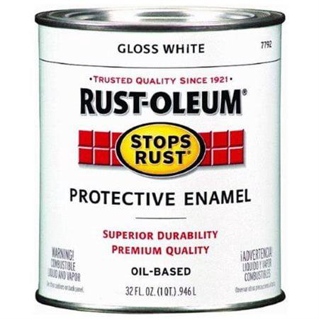 - Gloss White Protective Enamel