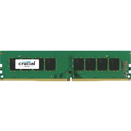 Crucial CT4G4DFS8213 Crucial DDR4 Server Memory - 4 GB (1 x 4 GB) - DDR4 SDRAM - 2133 MHz DDR4-2133/PC4-17000 - 1.20 V - ECC - Unregistered - 288-pin - DIMM