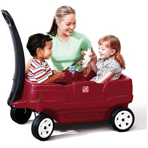 Step2 Neighborhood Wagon Includes Two Molded-in Cup Holders