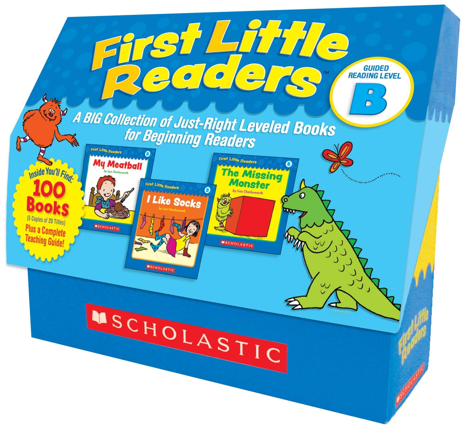 First Little Readers: Guided Reading Level B: A Big Collection of Just-Right Leveled Books for Beginning Readers (Other)