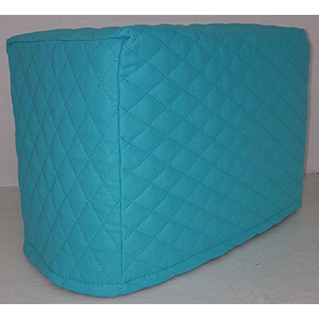 Toaster Cover Patterns - Quilted Toaster Cover (4 Slice, Aqua Blue)