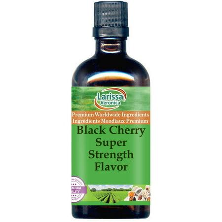 Black Cherry Super Strength Flavor (8 oz, ZIN: (Black Cherry Flavor)