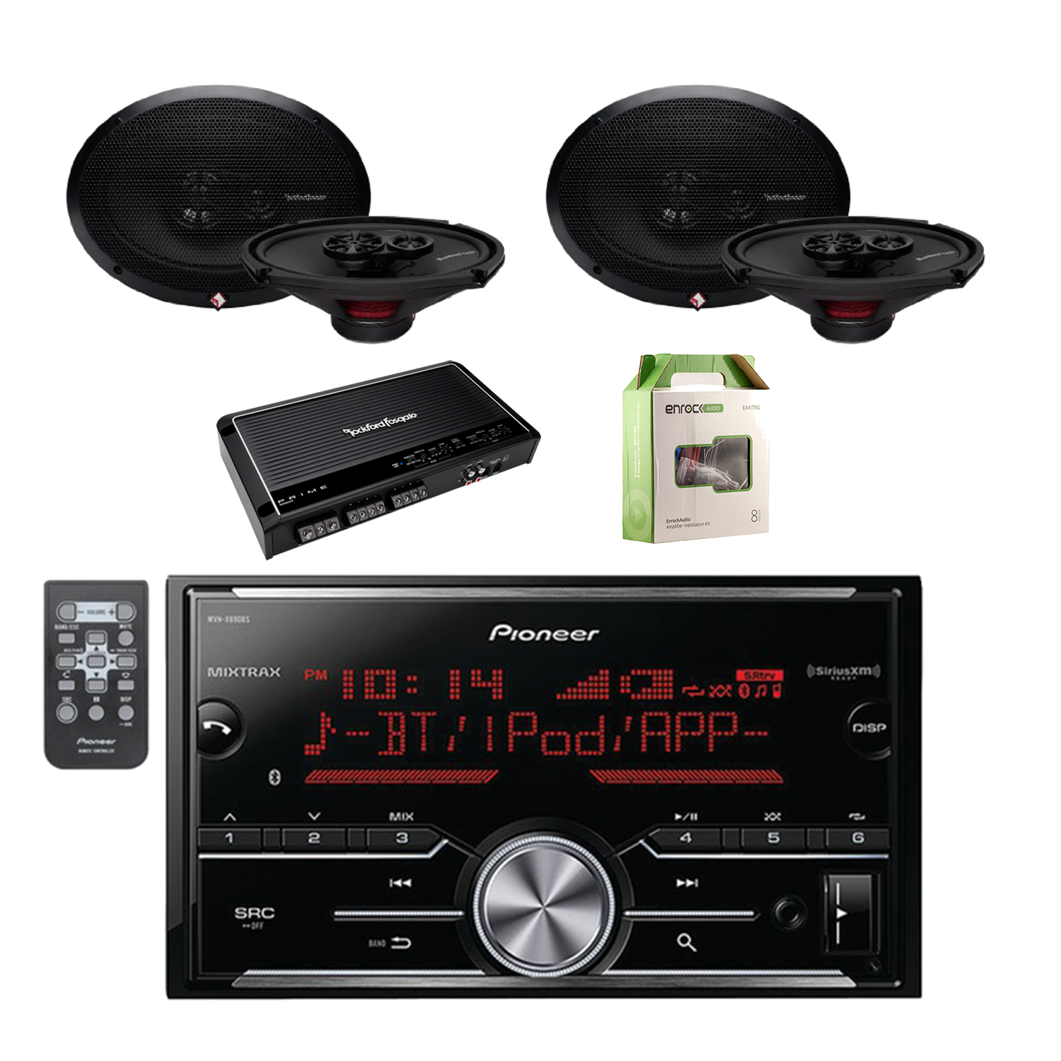 Rockford Fosgate Car Audio Systems Wiring Just Another Data Db1500 Diagram 1 Pioneer Vehicle Digital Media 2din Receiver With Bluetooth Forum