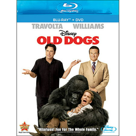 Old Dogs (Blu-ray + DVD) (Old Children's Halloween Movies)