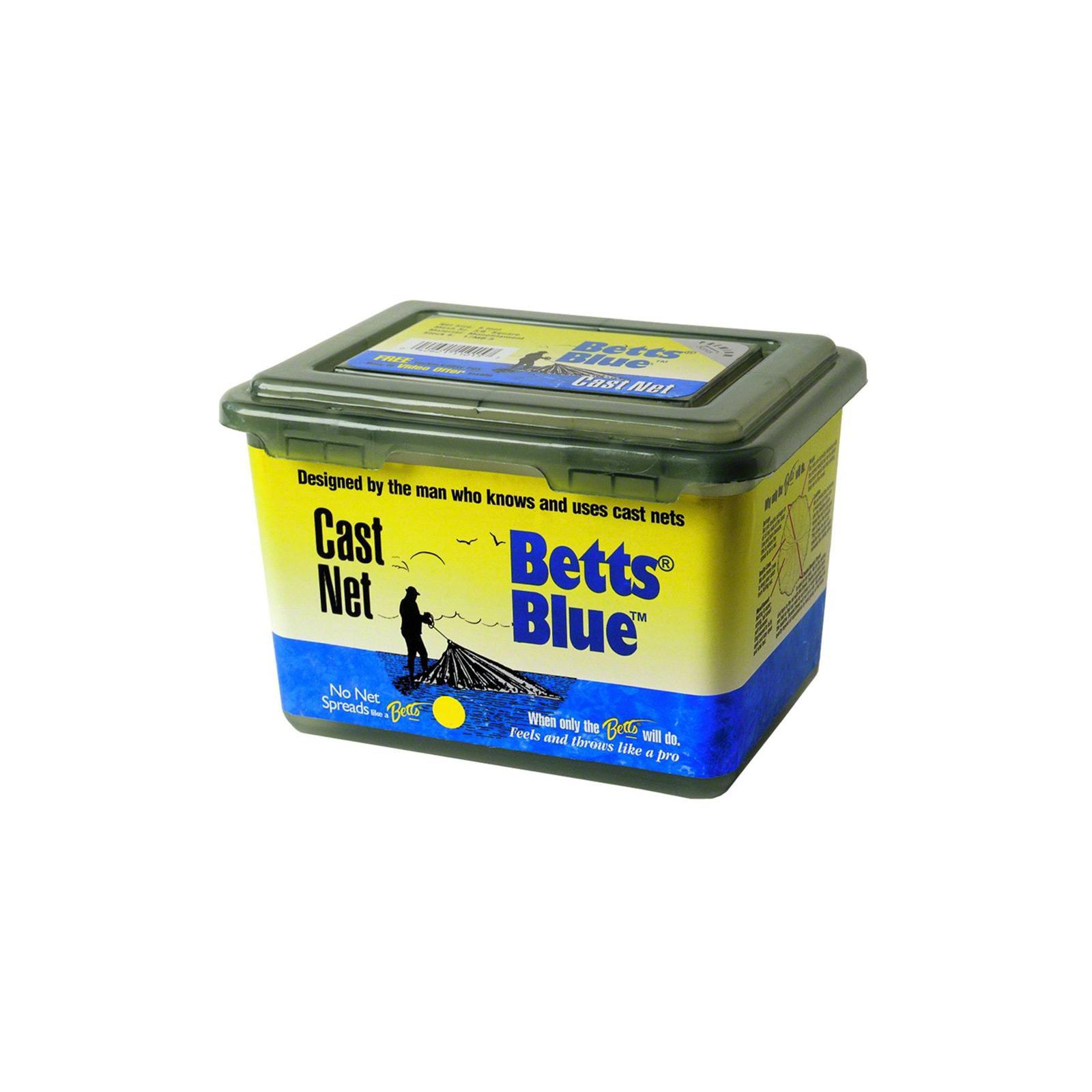 Betts Cast Net Blue Series Mono 3/8 8ft