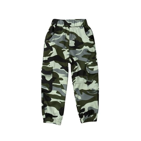 1pc Kids Toddler Cotton Camouflage Harem Pants Baby Elastic Trousers Sweatpants thumbnail