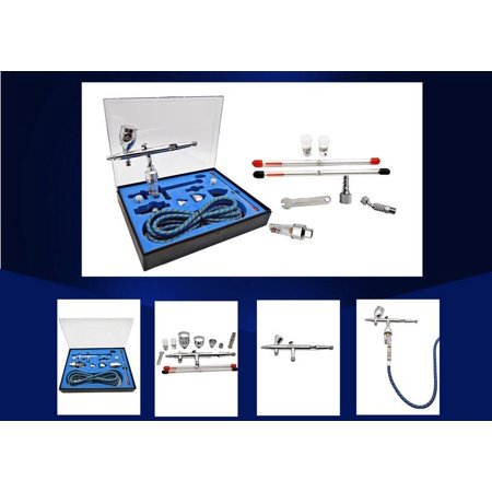 Techtongda Pneumatic Inkjet Talon TG-Set Airbrush Set with Hose Airbrush Holder used for Cake printing, Ink painting