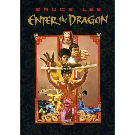 Enter the Dragon (DVD) (Enter The Gungeon Best Gun)