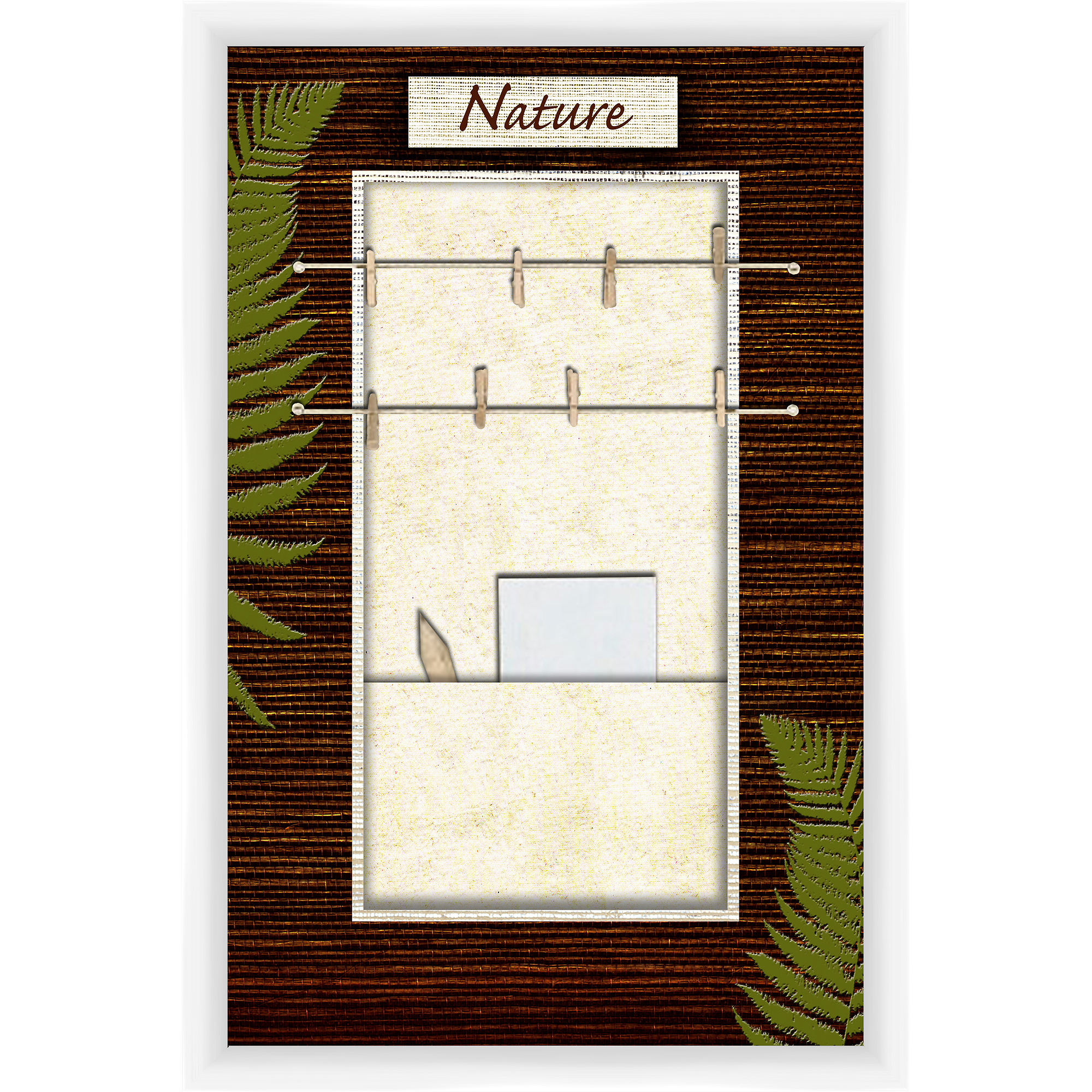 Nature White Memoboard