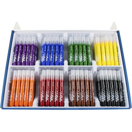 Maped Helix USA 1567816 Color Peps Maxi Markers Classroom Pack, Assorted Colors - Set of 200 (Maped Color Peps)