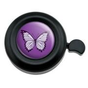 Purple Butterfly Bicycle Handlebar Bike Bell