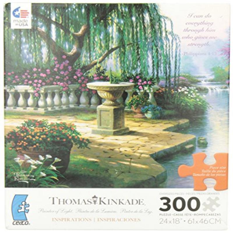 Ceaco Thomas Kinkade The Hour of Prayer Jigsaw Puzzle