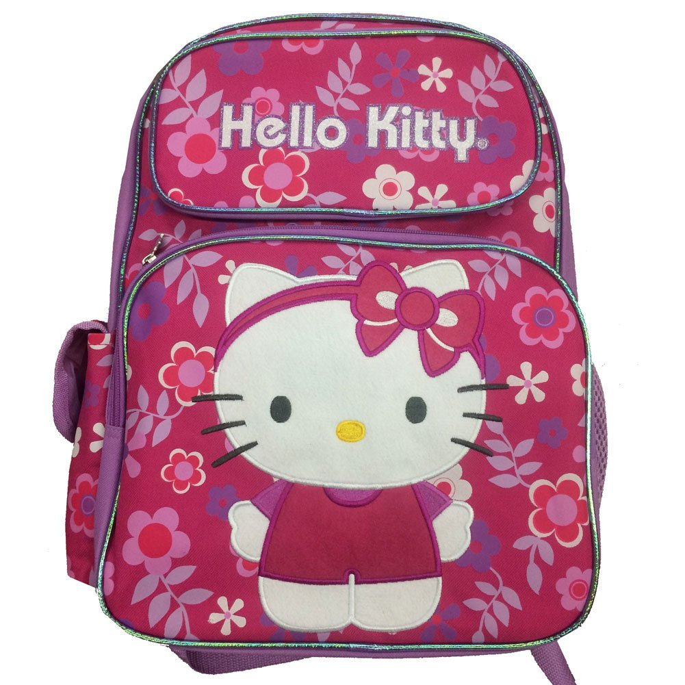 Small Backpack - Hello Kitty - Flower Headband School Bag 631468