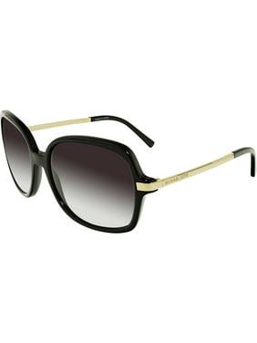Michael Kors Women's Gradient Adrianna II MK2024-316011-57 Black Square Sunglasses