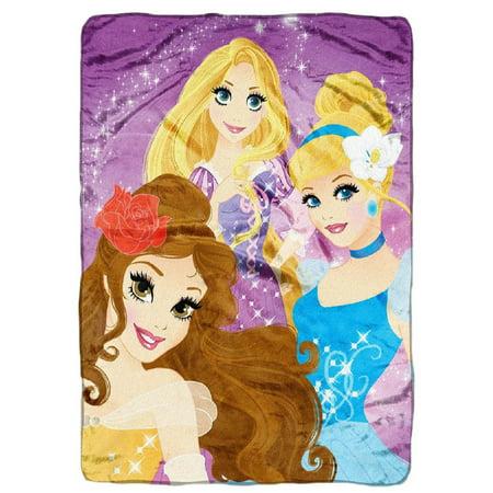 disney princess plush throw blanket walmart com