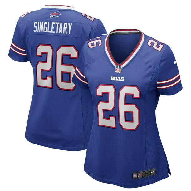 Devin Singletary Buffalo Bills Nike Women's Game Jersey - Royal