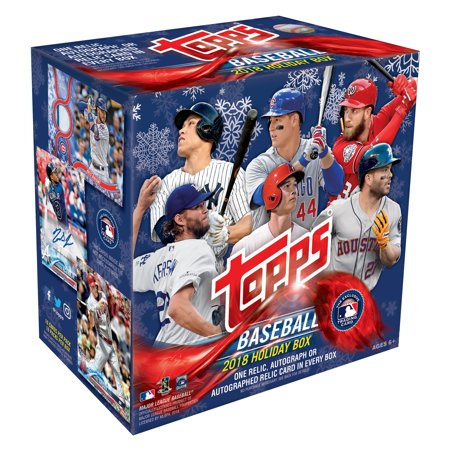 2018 Topps Holiday Baseball Trading Cards Mega Box