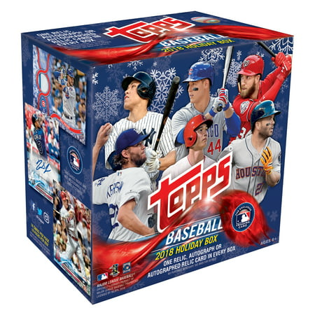 2018 TOPPS HOLIDAY BASEBALL TRADING CARDS MEGA (Diamond Collection Baseball Box)