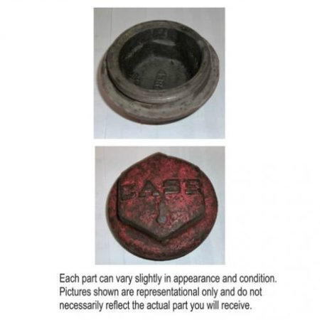 Front Wheel Hub Cap, Used, Case, 4384A ()