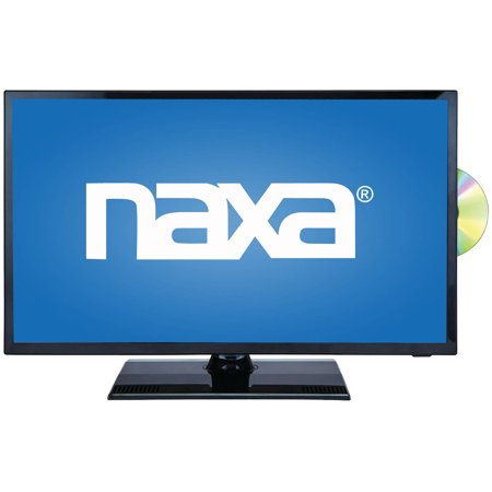 Naxa NTD-2255 22″ 1080p LED HDTV/DVD/Media Player Combination and Car Package