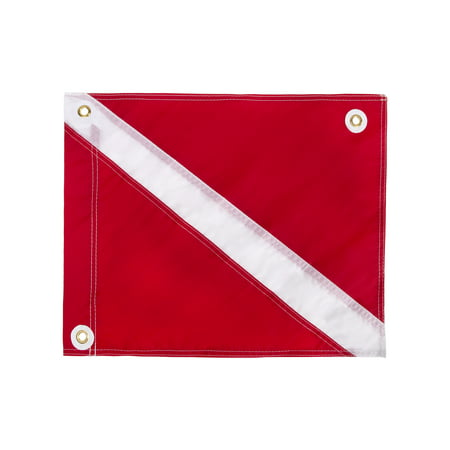 "IST 20"" x 24"" Traditional Diver Down Flag, USCG Regulation Size"