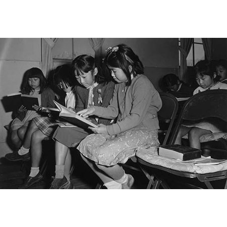 Four girls reading in a Sunday school class  Ansel Easton Adams was an American photographer best known for his black-and-white photographs of the American West  During part of his career he was
