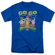 Mighty Morphin Power Rangers Go Go Mens Short Sleeve Shirt