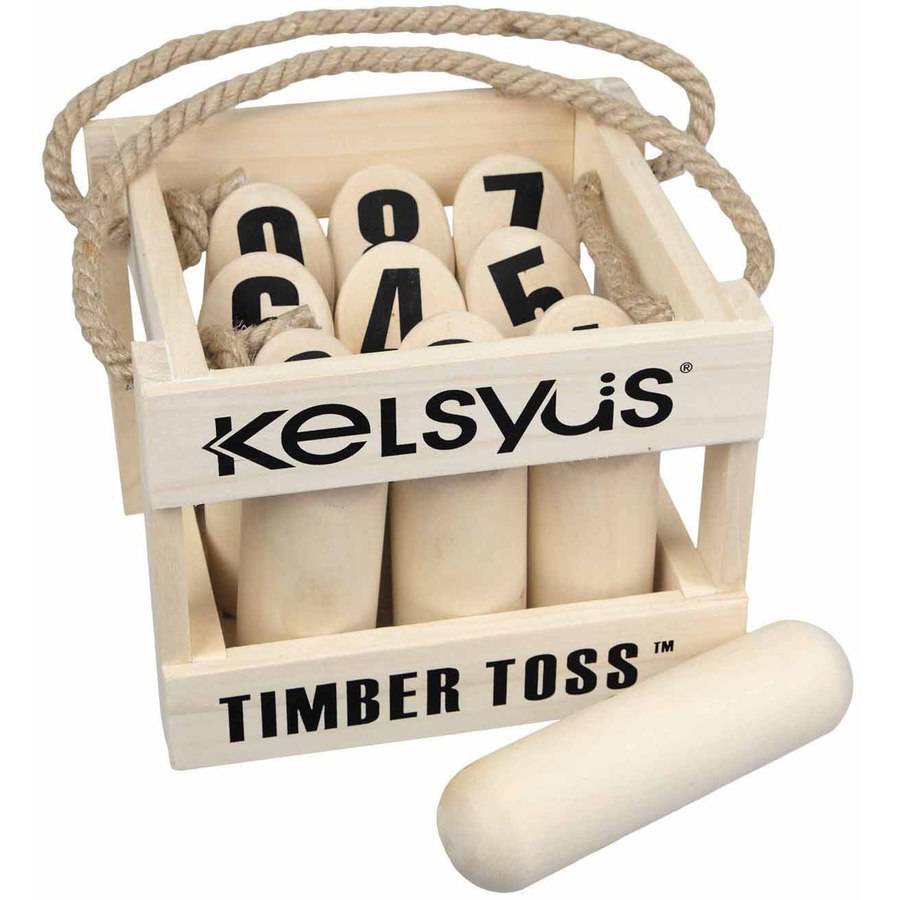 Premium Timber Toss Set