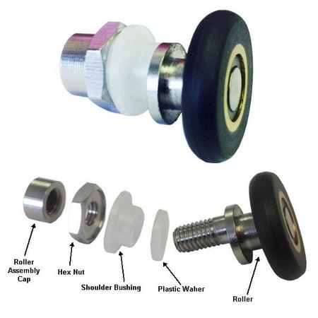 Shower Door Ball Bearing Top Roller Assembly for Framed and Frameless Sliding Shower Doors
