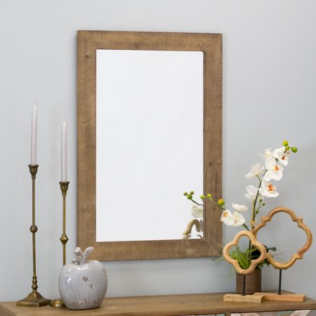 Morris Wall Mirror - Nutmeg 36