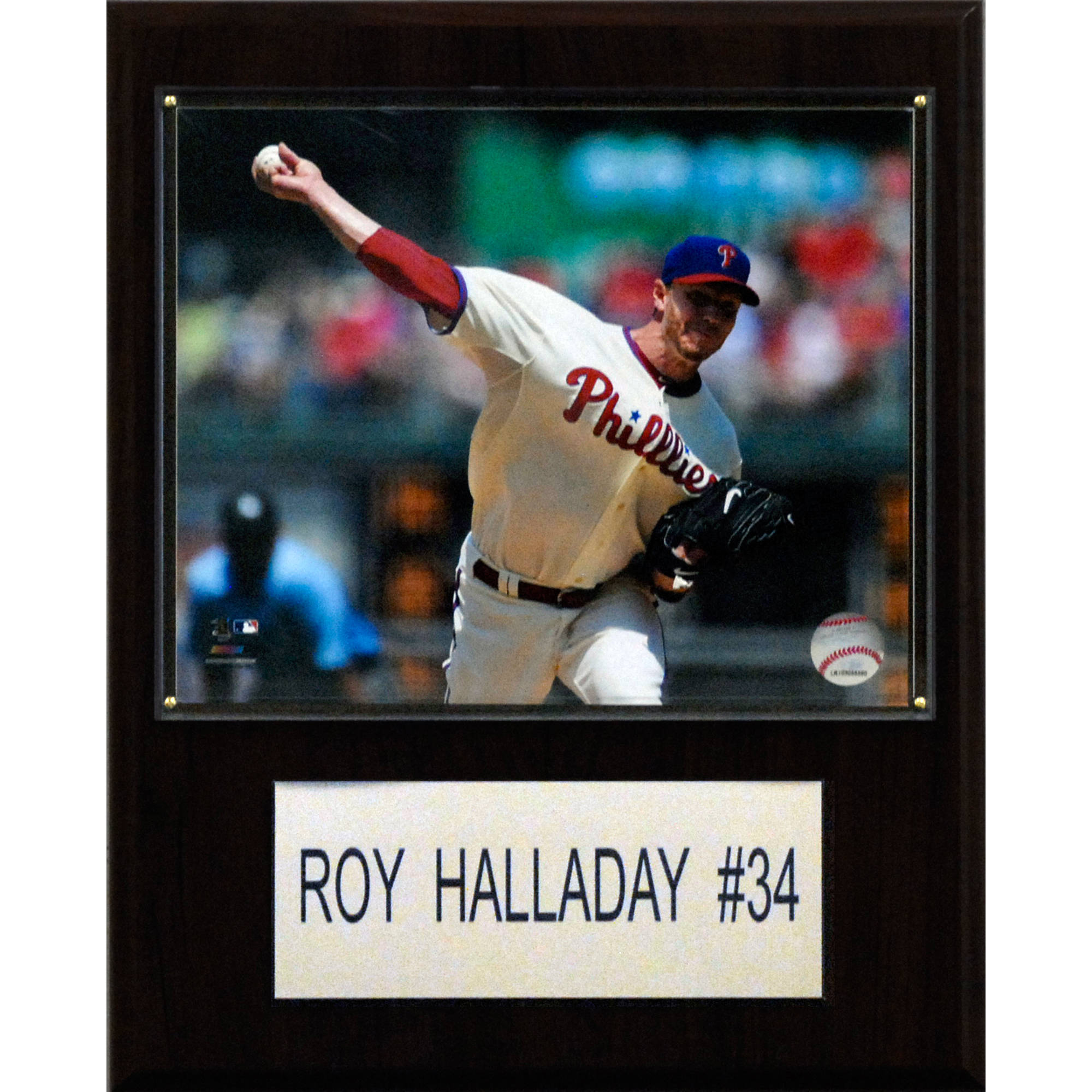 C&I Collectables MLB 12x15 Roy Halladay Philadelphia Phillies Player Plaque
