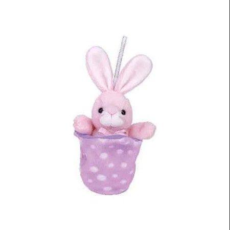TY Basket Beanie Baby - PETEY the Bunny (6 (Petco Plush)