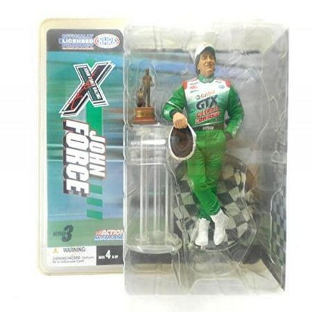 Drag Nhra Racing - John Force Racing NHRA Action Figure Series 3