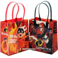 Disney Incredibles Saving The Day Reusable 12 Party Favor Small Goodie Bags 6""