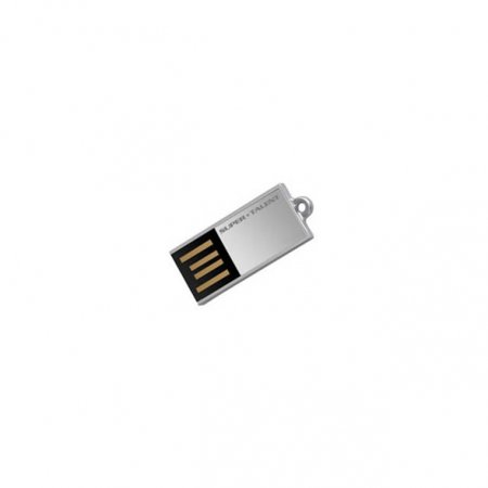 Super Talent Pico-C 64GB USB 2.0 Flash Drive (Silver)