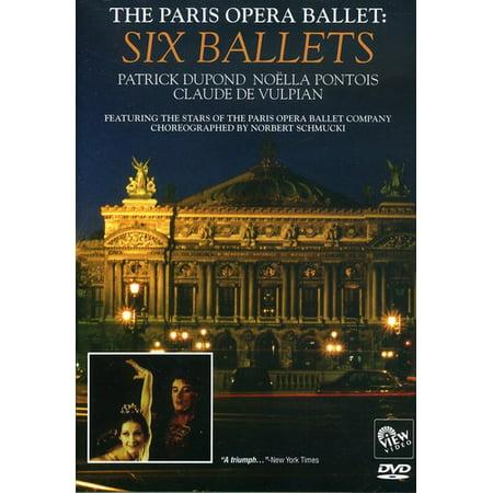 Paris Opera Ballet: Six Ballets (DVD)