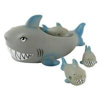 Tubby Scrubby Shark Family Bath Toys