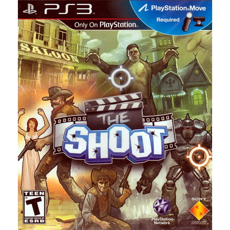 The Shoot (PS3 Move) (Ps3 Shooting Games With Gun For Move)