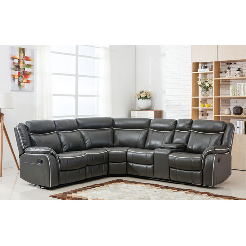 Madison Home USA Classic Reclining Sectional