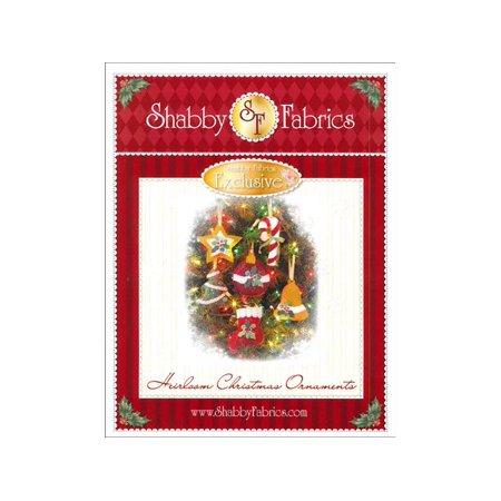Christmas Heirloom Ornaments - Shabby Fabrics Heirloom Christmas Ornaments Ptrn