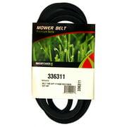"MaxPower 336311 Primary Deck Belt for 48"" Cut Poulan, Husqvarna, Craftsman Replaces OEM #174368"