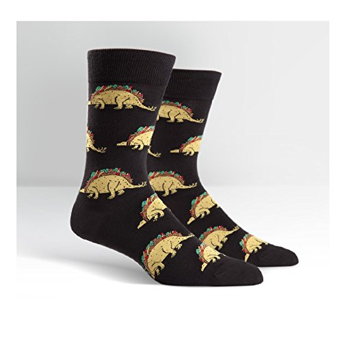 Tacosaurus Mens Crew Socks by Animewild
