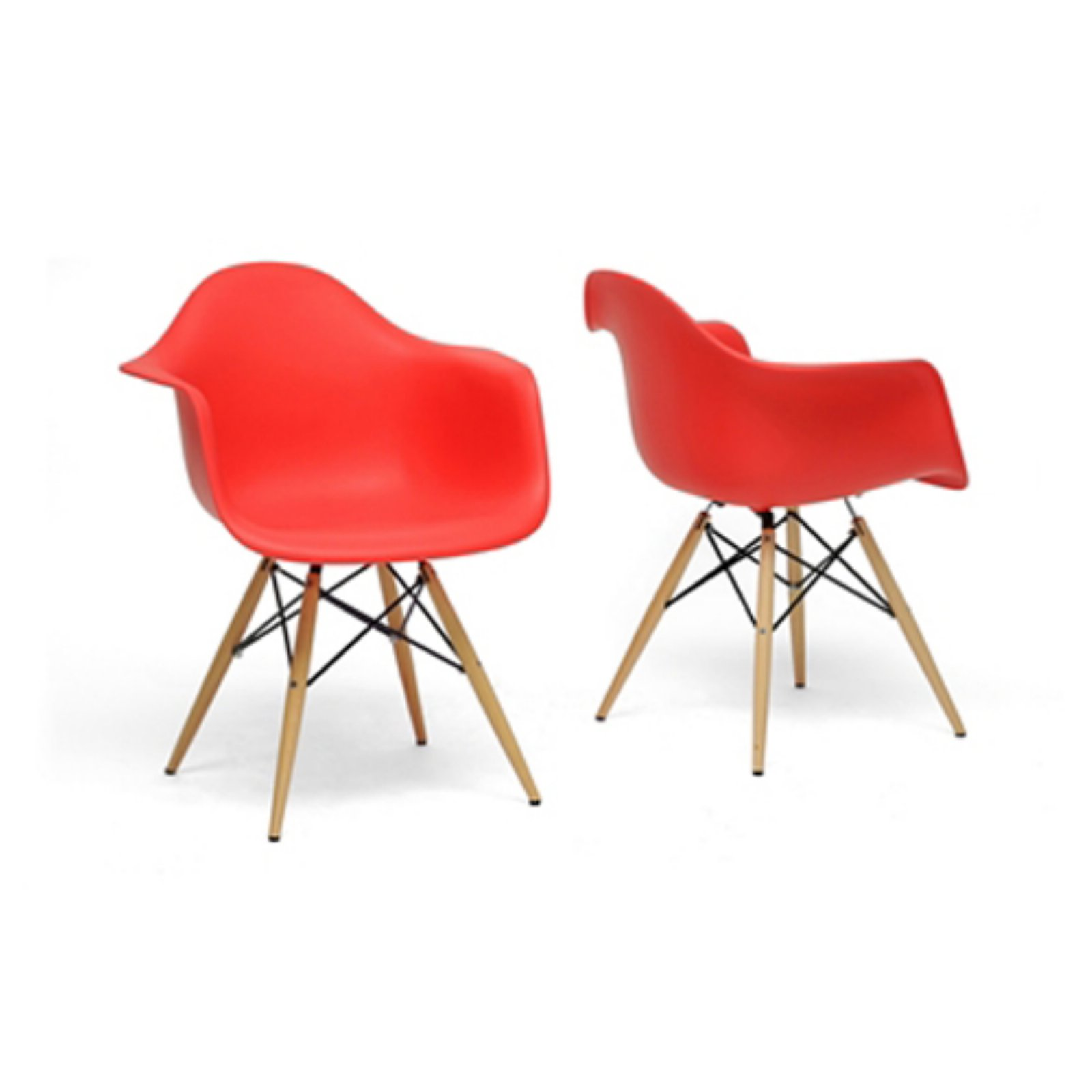 Baxton Studio Pascal Modern Dining Chair - Set of 2