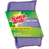 Scotch-Brite Stay Clean Scrubbers, 2 count