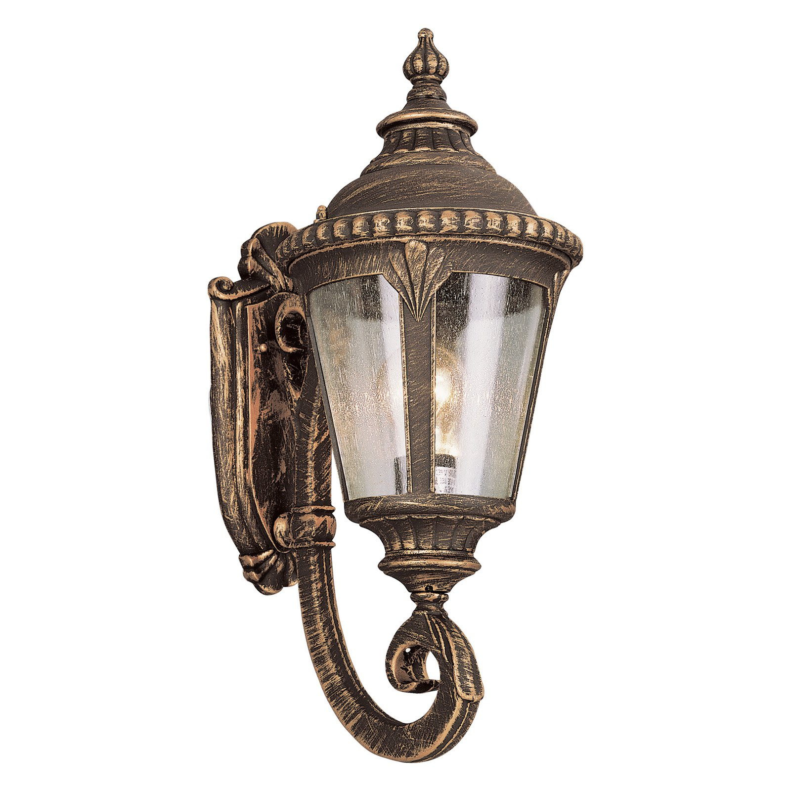 Bel Air Saddle Rock Outdoor Wall Light - 19H in.
